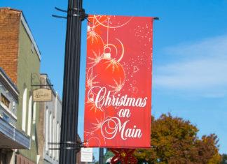 Christmas on Main Flag