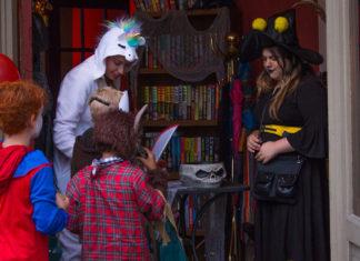 Halloween on Main St in Woodruff
