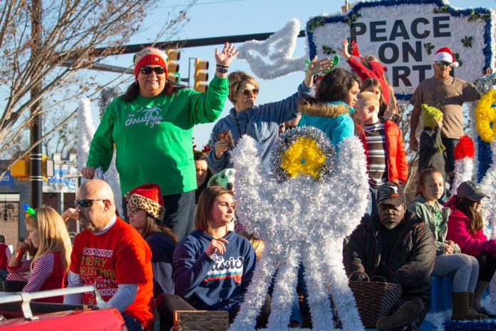 Woodruff Christmas Parade 2019