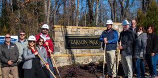 Groundbreaking at the Pearson Park development in Woodruff