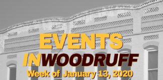 WOODRUFF Events Jan 13 – 19, 2019